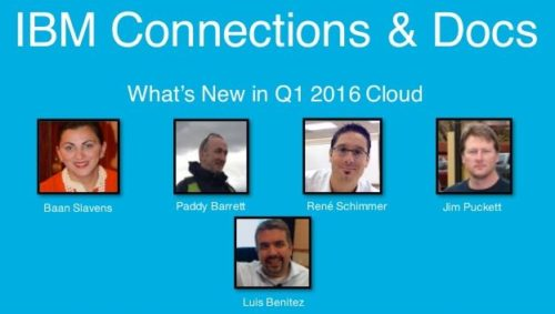 What's New in IBM Connections Social Cloud Q1 2016