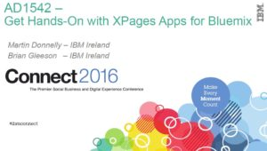 Get Hands-On With Xpages Apps for Bluemix